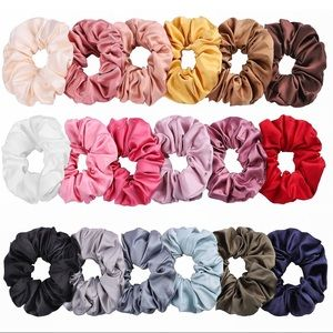 Accessories - Satin Scrunchies 3 for $10
